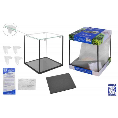Аквариум креветкарий 23С с покровным стеклом