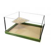 Аквариум для черепах 35ч с берегом