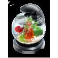 Tetra Cascade Globe  аквариум-шар 6,8л  для петушков, чёрный