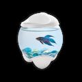 Tetra Betta Bubble аквариум-шар 1,8л, белый